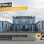 BND-Zentrale in Berlin fertiggestellt.