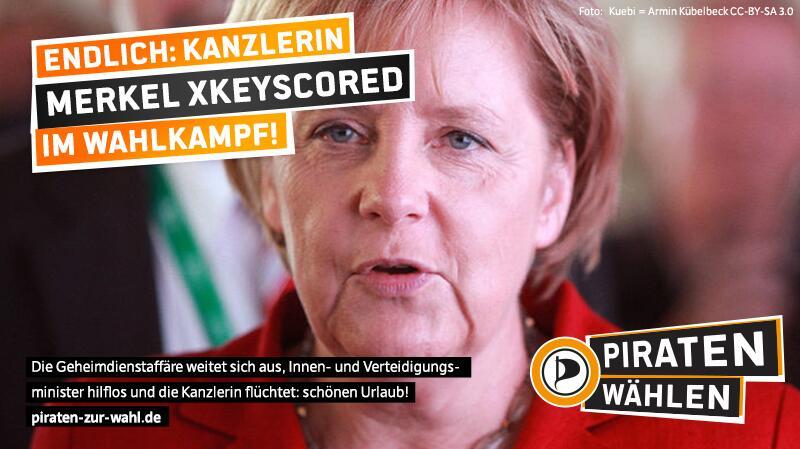 Einen schönen Urlaub, Frau Merkel!