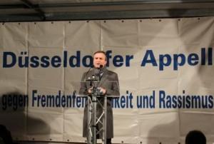 Thomas Geisel auf der #NoDügIdA - Foto: Ingo Schneider