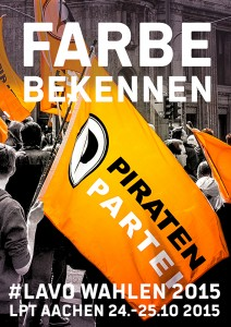PIRATEN - LPT152 - AACHEN - FARBE BEKENNEN - be-him CC BY NC ND